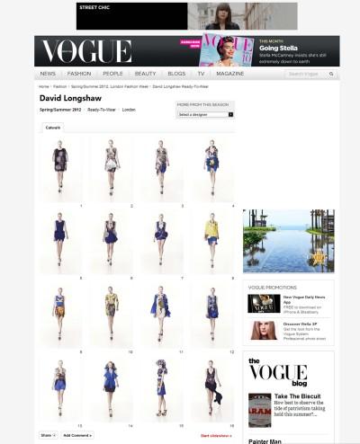 Vogue Spring/Summer 12